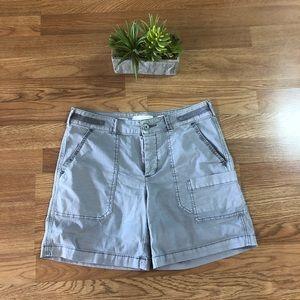 Anthropologie Hei Hei Gray wanderer shorts 27